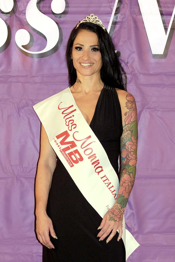 Miss Nonna Italiana 2019 Stefania Puglisi