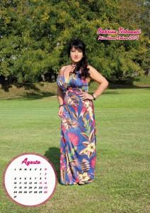 Calendario 2020 Miss Nonna - 08 agosto