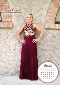 Calendario 2020 Miss Nonna - 10 ottobre